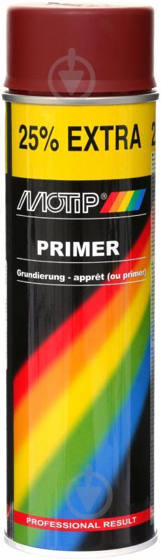 Ґрунт аерозольний Primer Motip червоний 500 мл - фото 1