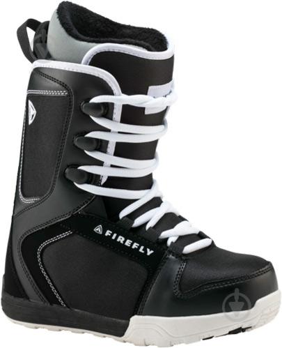 Ботинки для сноуборда Firefly C30 JR р. 20 270422 черный с белым - фото 1