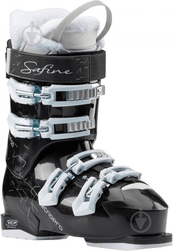 Ботинки горнолыжные TECNOPRO Safine Pearl р. 22,5 253472 черный с белым - фото 2