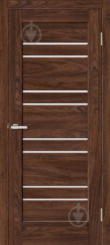 Дверне полотно ОМіС Rino 01 G ПО 600 мм дуб такома - фото 1