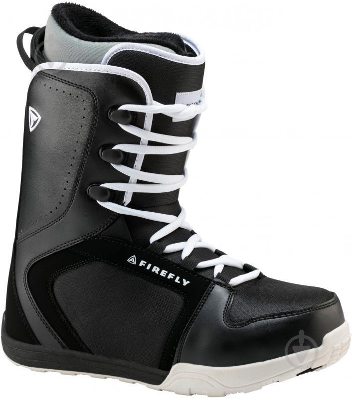 Ботинки для сноуборда Firefly C30 р. 27,5 270423 черный с белым - фото 1
