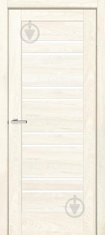 Дверне полотно ОМіС Rino 01 G ПГО 700 мм дуб остін - фото 1