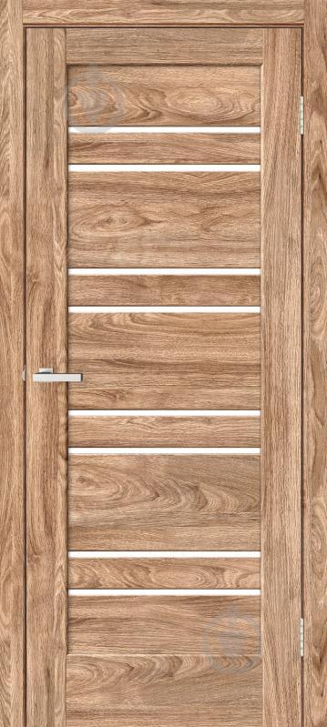 Дверное полотно ламинированное ОМиС Rino 01 G ПО 600 мм дуб ориндж - фото 1