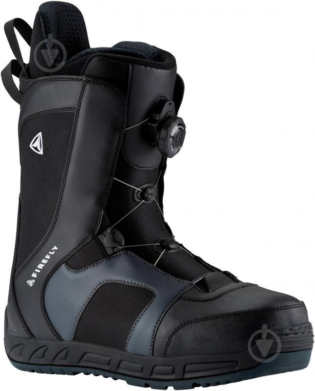 Ботинки для сноуборда Firefly A60 AT р. 26,5 270401 черный с серым - фото 1