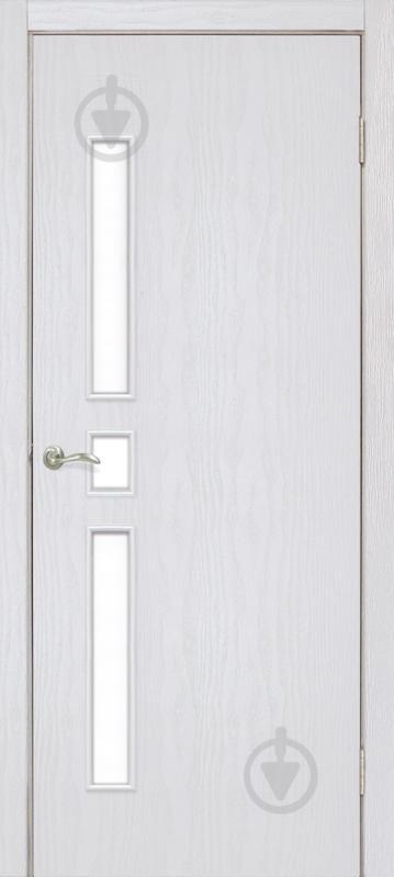 Дверне полотно ПВХ ОМіС Комфорт ПО 600 мм ясен перламутр - фото 1