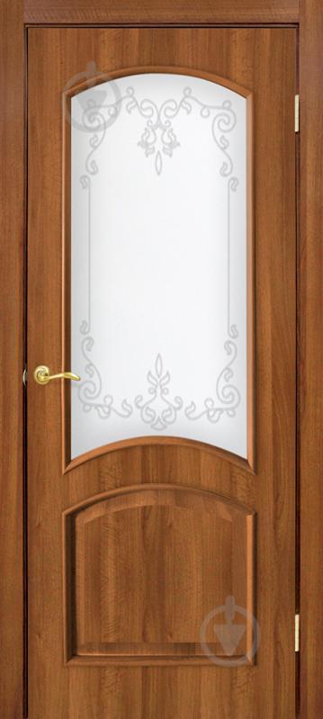 Дверне полотно ОМіС Адель 2 ПО 800 мм вільха європейська - фото 1
