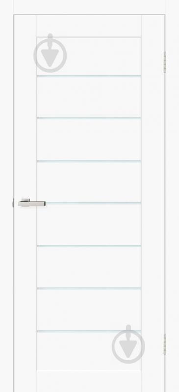 Дверное полотно ОМиС Cortex deco 10 ПО 800 мм белый матовый - фото 1