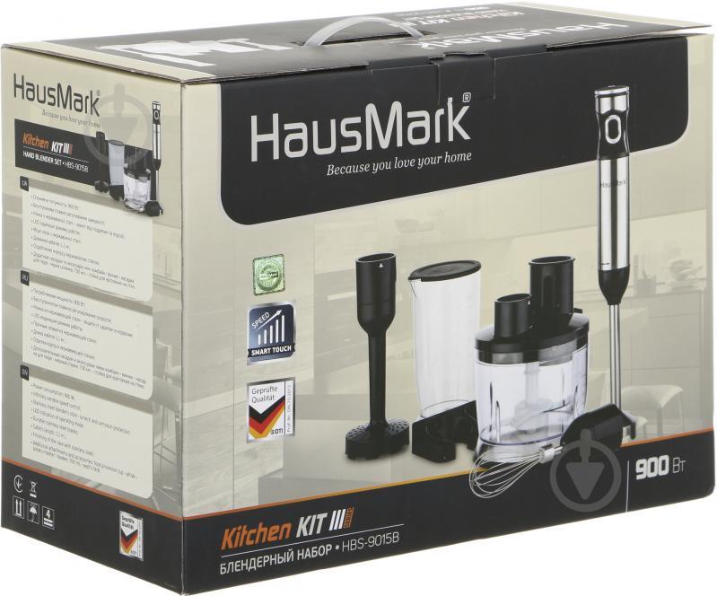 Блендер ручний HausMark HBS-9015B - фото 8