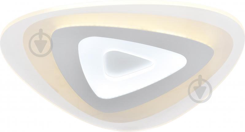 Люстра светодиодная Victoria Lighting Glass/PL500 с пультом ДУ 86 Вт белый - фото 1