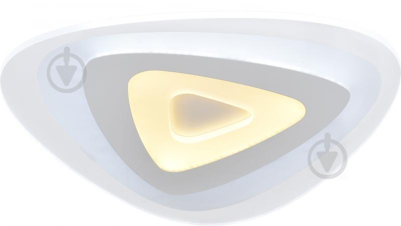 Люстра светодиодная Victoria Lighting Glass/PL500 с пультом ДУ 86 Вт белый - фото 2