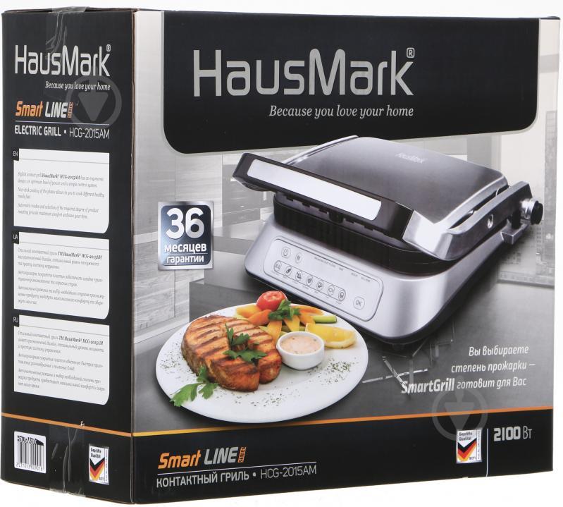 Контактный гриль HausMark HCG-2015AM - фото 5