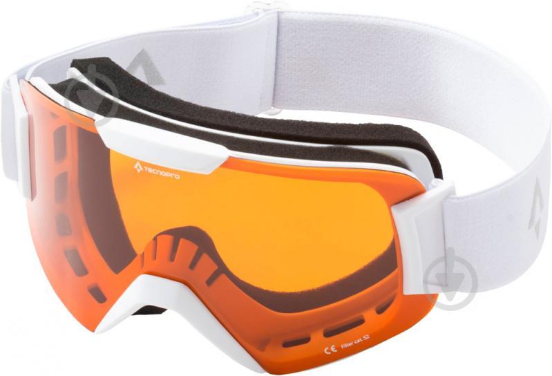 Горнолыжная маска TECNOPRO Base 2.0 white/gray 270397 - фото 1