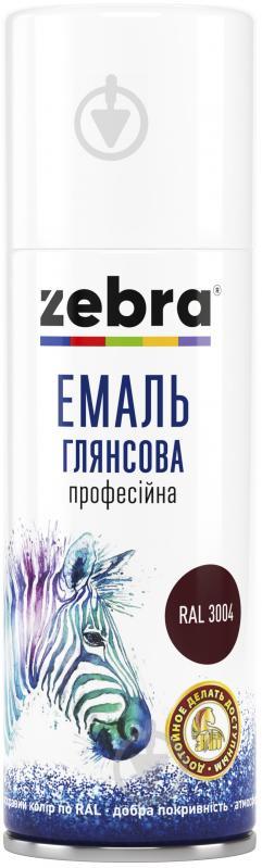 Эмаль ZEBRA профессиональная серия Акварель RAL 9010 белый глянец 400 мл