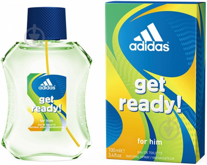 Туалетная вода Adidas Get Ready for Him 100 мл - фото 1