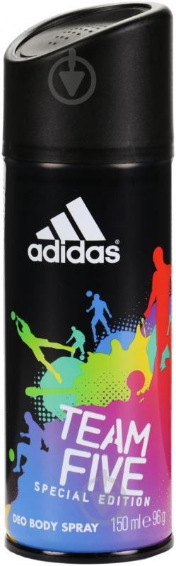 Антиперспирант для мужчин Adidas Team Five 150 мл - фото 1