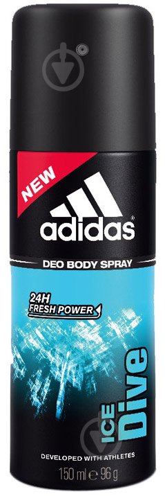 Антиперспирант для мужчин Adidas Ice Dive Sport Sensations 150 мл спрей - фото 1