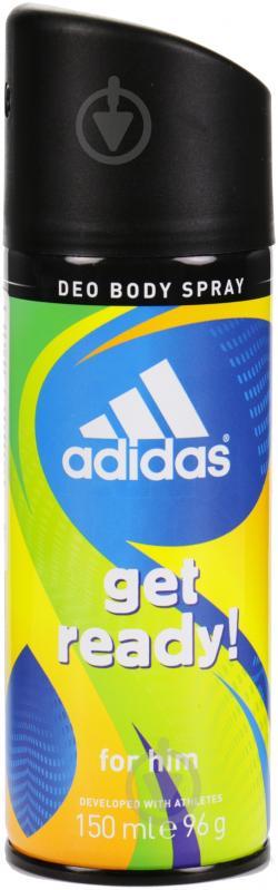 Антиперспирант для мужчин Adidas Get Ready 150 мл спрей - фото 1
