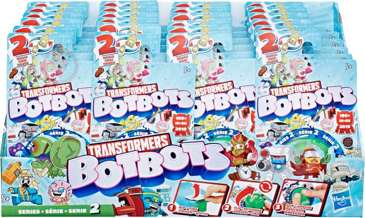 Игрушка-трансформер Hasbro Ботботс E3487 - фото 3
