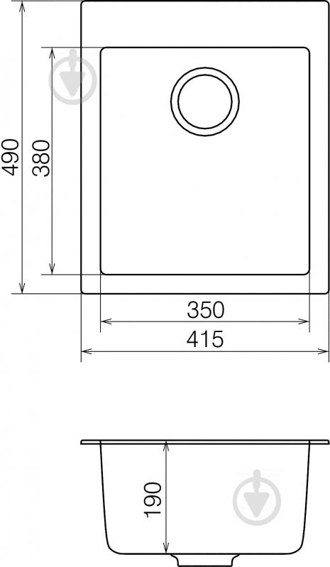 Мойка для кухни Water House Galaxy GMP 01.42 - фото 4