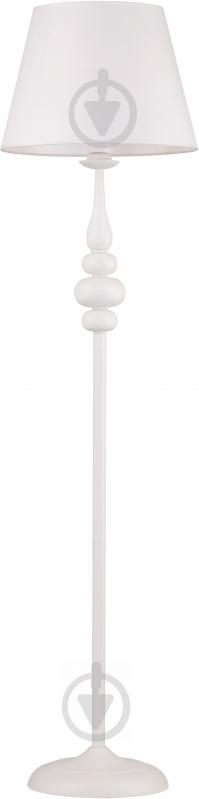 Торшер Victoria Lighting E14 40 Вт Belladonna білий - фото 1