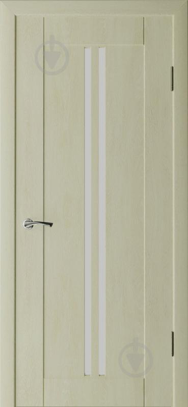 Дверне полотно Неман Гранд Дуб крем ПО 900 мм - фото 1
