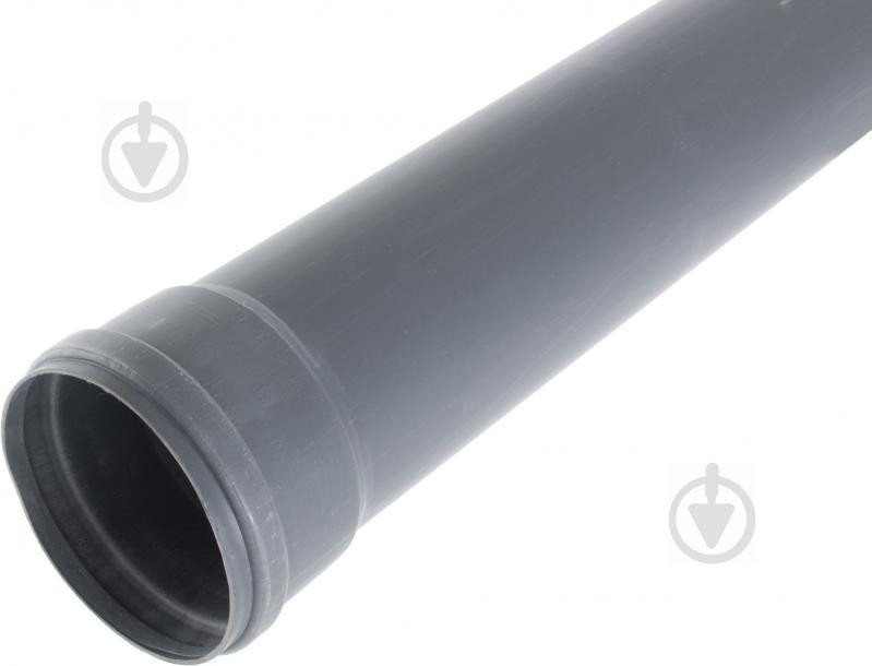 Труба каналізаційна ПВХ d110х3000 мм - фото 1