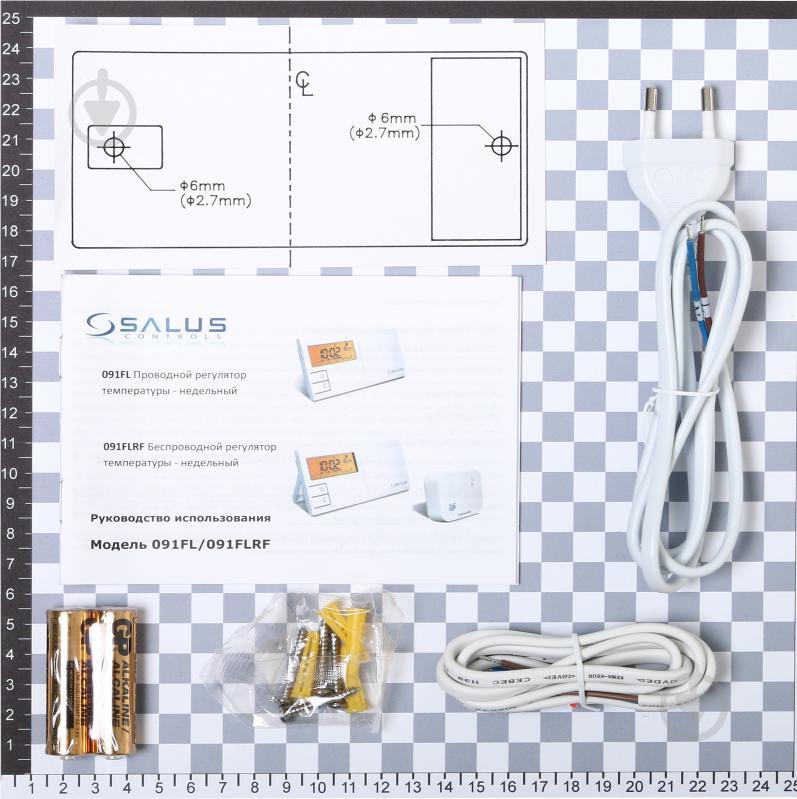 Бездротовий програматор Salus 091 FLRF - фото 10