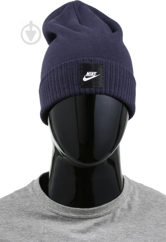 3cf15faa ᐉ Шапка Nike 803732-451 OS синій • Краща ціна в Києві, Україні ...