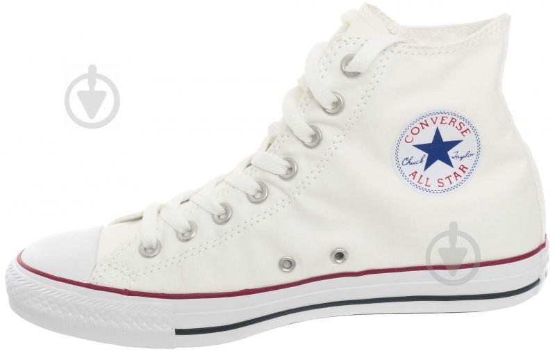 Кеды Converse Chuck Taylor Classic HI M7650C р. 11 белый - фото 1