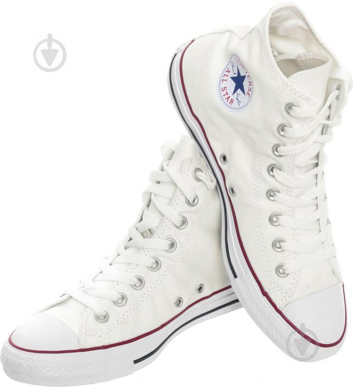 Кеды Converse Chuck Taylor Classic HI M7650C р. 11 белый - фото 2