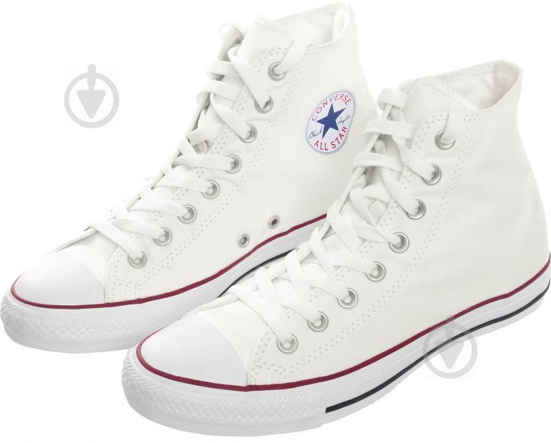 Кеды Converse Chuck Taylor Classic HI M7650C р. 11 белый - фото 3