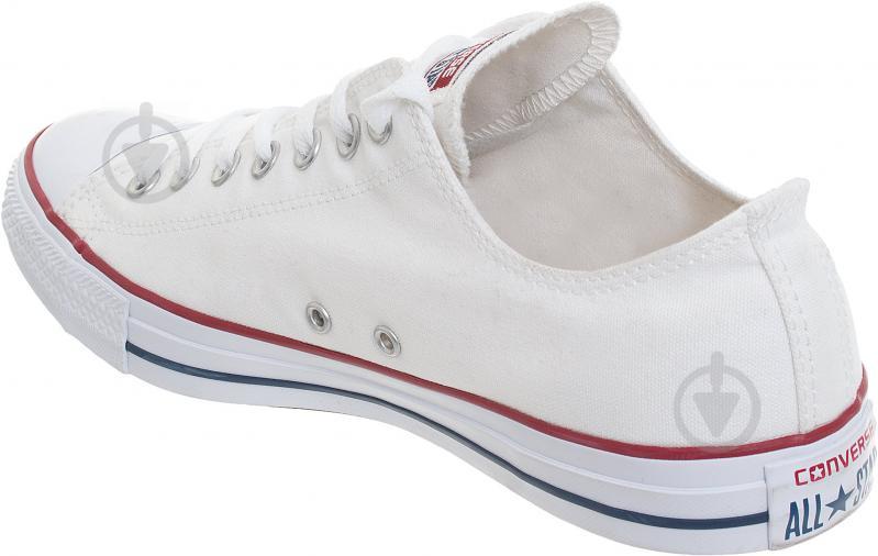 Кеды Converse Chuck Taylor Classic OX M7652C р. 9,0 белый - фото 4