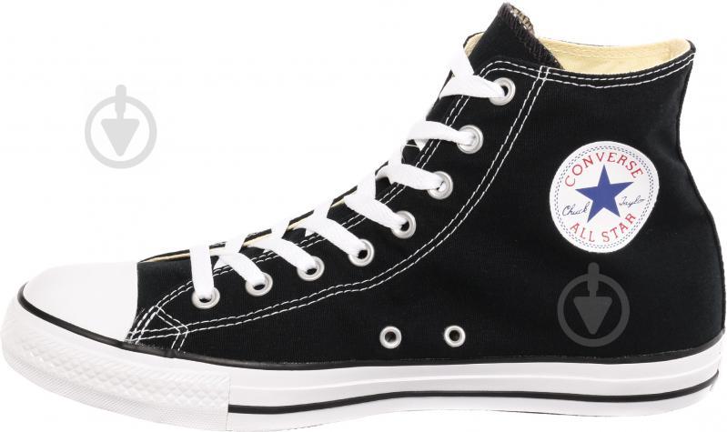 Кеды Converse Chuck Taylor Classic HI M9160C р. 8,5 черный - фото 1