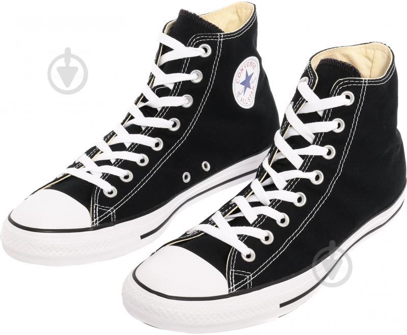Кеды Converse Chuck Taylor Classic HI M9160C р. 8,5 черный - фото 3