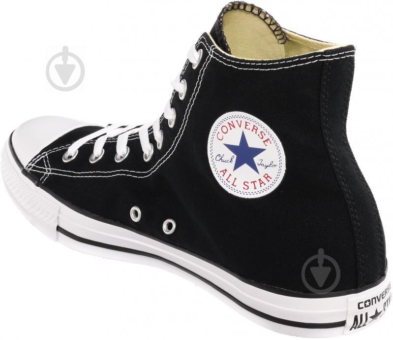 Кеды Converse Chuck Taylor Classic HI M9160C р. 10 черный - фото 4