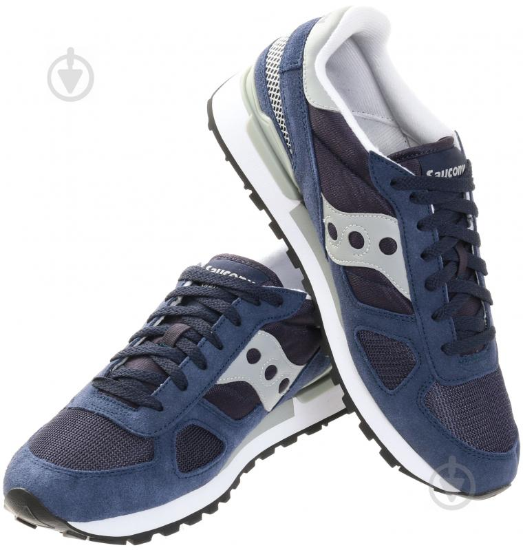 Кроссовки Saucony L SHADOW ORIGINAL р.8.5 синий 2108-523 - фото 1