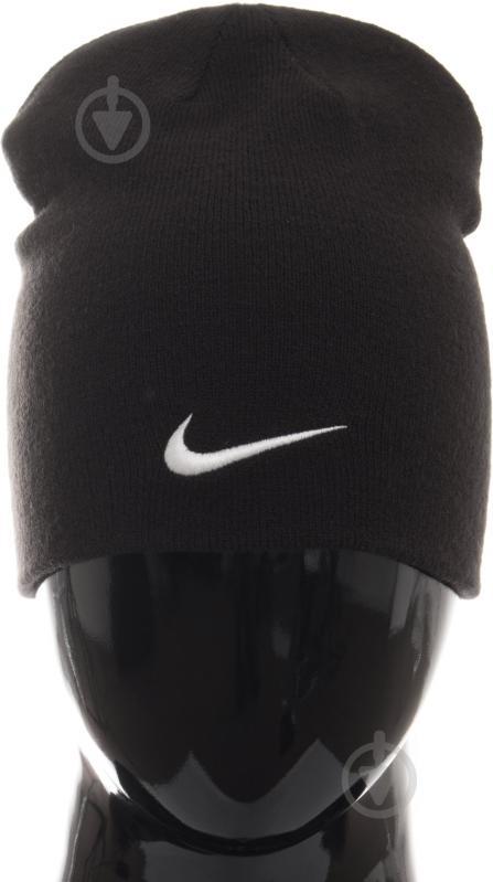 Шапка Nike Team Performance Beanie р. one size чорний 646406-010 - фото 1 7aae6da14a53