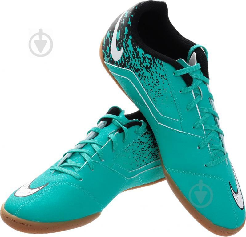 Футбольні бутси Nike BOMBAX IC 826485-310 10 бірюзовий - фото 1
