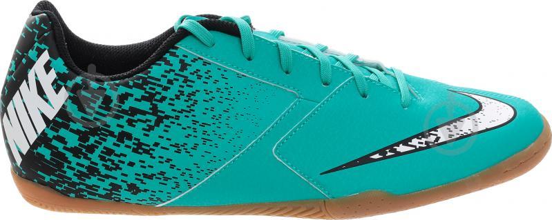 Футбольні бутси   Nike  BOMBAX IC 826485-310   р. 10  бірюзовий - фото 5