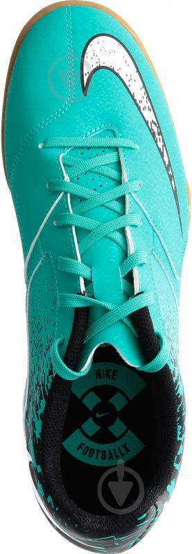 Футбольні бутси Nike BOMBAX IC 826485-310 10 бірюзовий - фото 9
