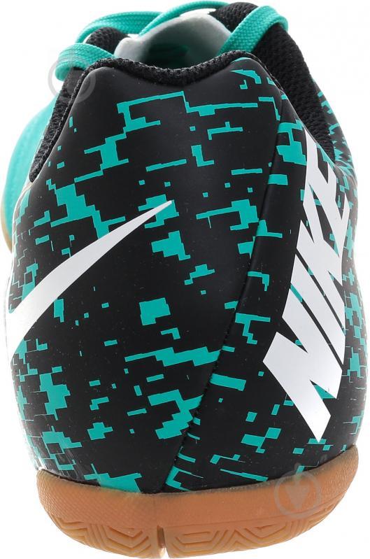 Футбольні бутси Nike BOMBAX IC 826485-310 р. 10.5 бірюзовий - фото 8