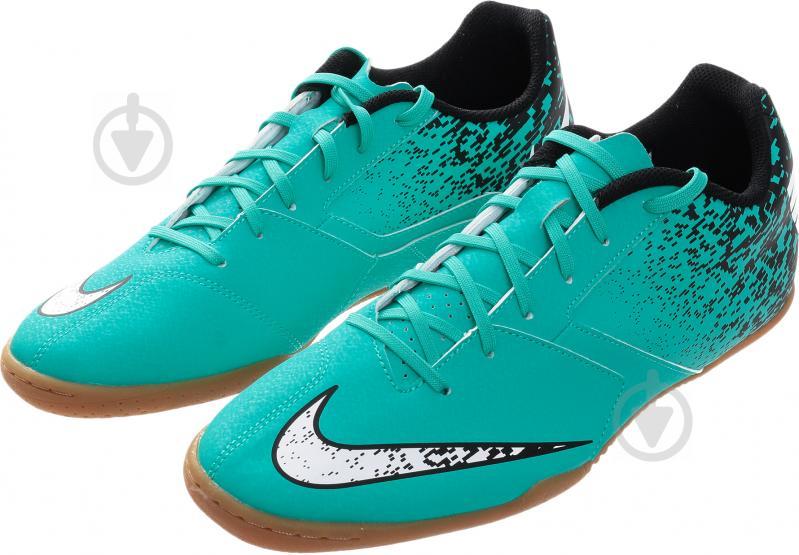 Футбольні бутси Nike BOMBAX IC 826485-310 р. 7.5 бірюзовий - фото 2
