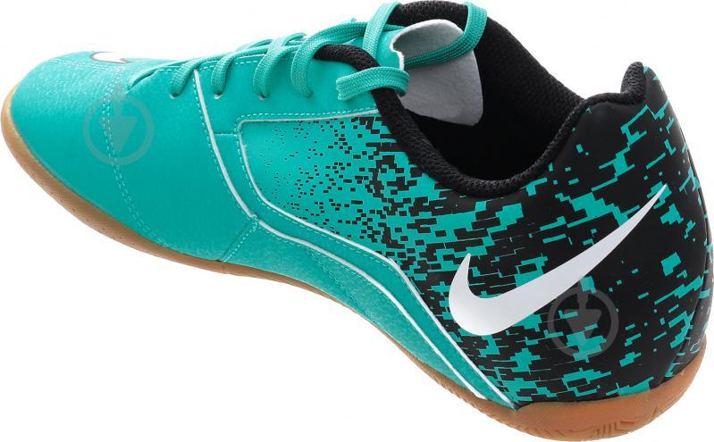 Футбольні бутси   Nike  BOMBAX IC 826485-310   р. 9  бірюзовий - фото 4