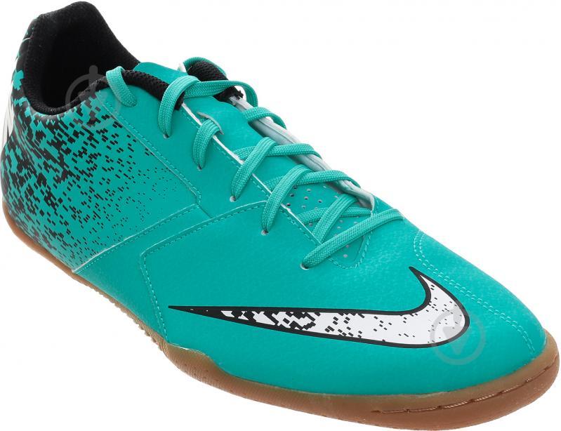 Футбольні бутси   Nike  BOMBAX IC 826485-310   р. 9  бірюзовий - фото 3
