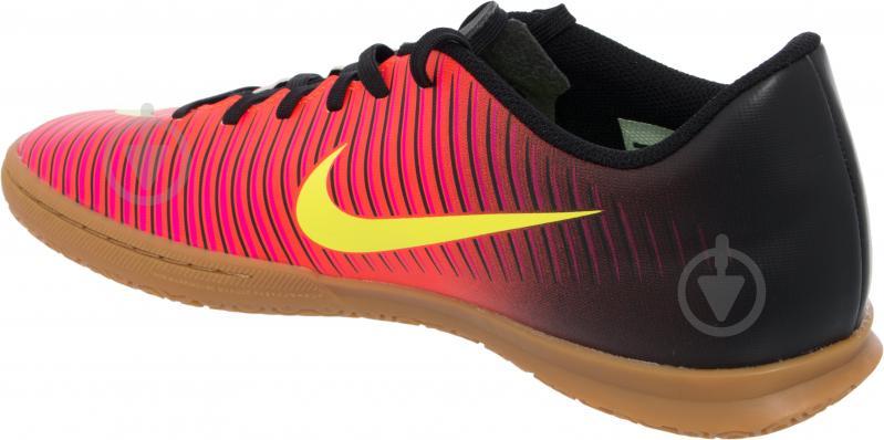 Футбольные бутсы Nike MERCURIAL VORTEX III 831970-870 р. 7.5 оранжевый - фото 4