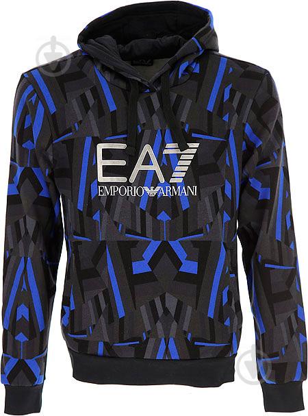 Джемпер EA7 р. L голубой - фото 5