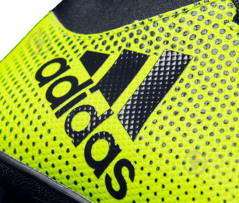 Футбольные бутсы Adidas X Tango TF CG3727 р. 9 зелено-черный - фото 3