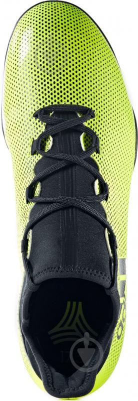 Футбольные бутсы Adidas X Tango TF CG3727 р. 9 зелено-черный - фото 7
