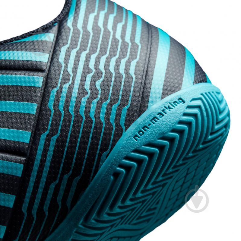 Бутсы Adidas Nemeziz IN S82472 р. 10 синий - фото 8