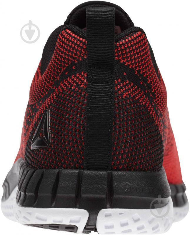 Кроссовки Reebok Print Run Prime Ultraknit BS8589 р. 10.5 красный с черным - фото 7
